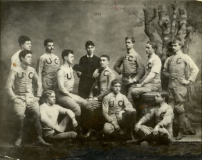 UC Football Team in 1891