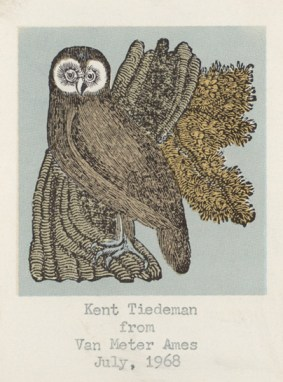 Owl Bookplate