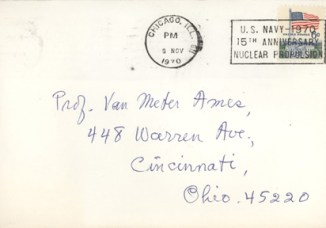 Envelope Address to Ames