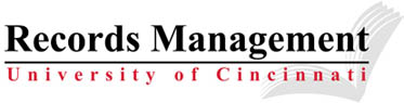 Records Management, University of Cincinnati