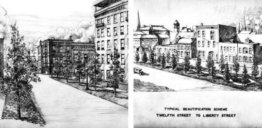 Central Parkway renditions
