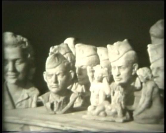 Sculptor's Studio Normandy, France ca. 1944