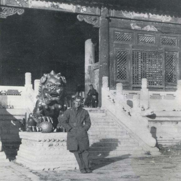 Dr. Heimlich in China ca. 1945