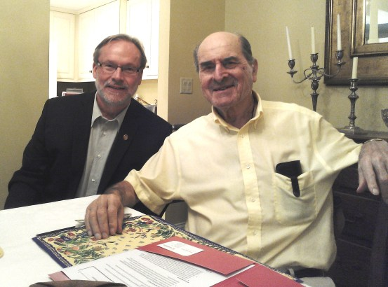 Steve Marine and Dr. Heimlich 7_17_14