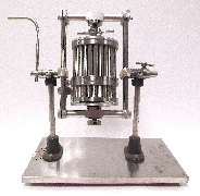 The circa 1949 Craig cylindrical countercurrent distribution apparatus recently donated to the Oesper Collections by Dr. Edward Bennett (Jensen-Thomas Apparatus Collection).
