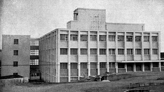 Polio Vaccine Unit building