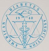 American Diabetes Association Emblem, 1965