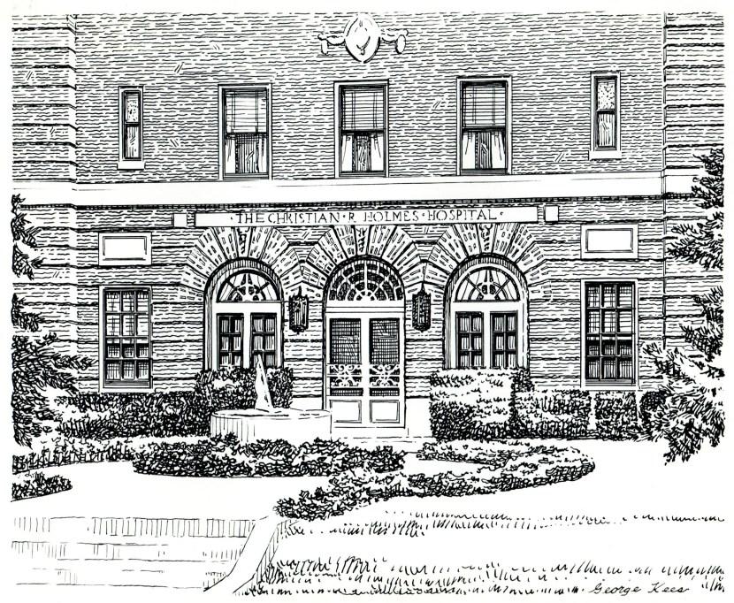 Christian R. Holmes Hospital Sketch