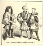 Male Costume in the time of Henry V