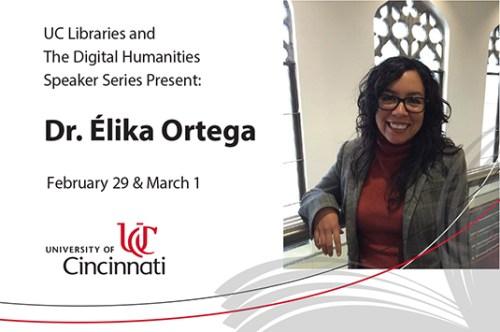 Speaker Dr. Elika Ortega
