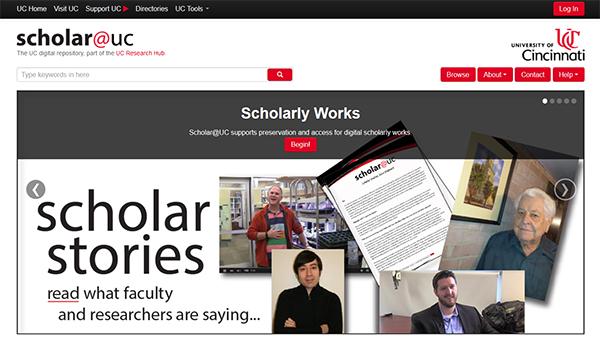 scholar@uc page