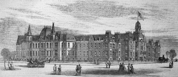 Cincinnati Hospital, 1869