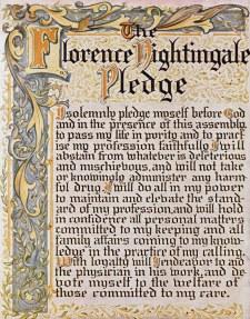 Florence Nightingale Nursing Pledge