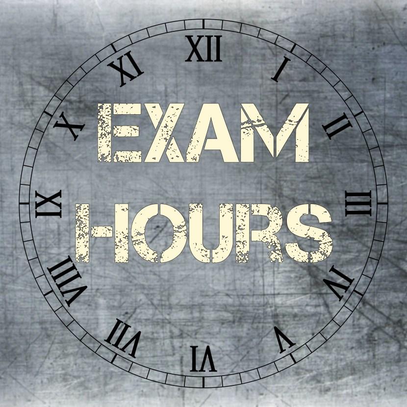 exam hours clock