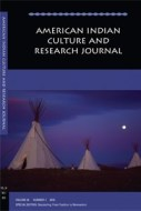 american indian culture and research journal