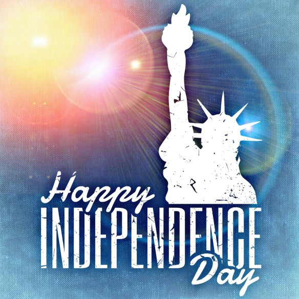 lady liberty independence day