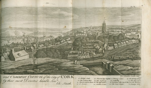 Drawing of Cork City