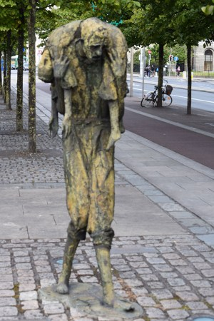 Famine Sculpture