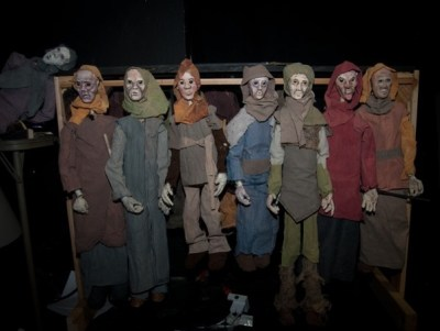 Puppets from Ridley Walker Play