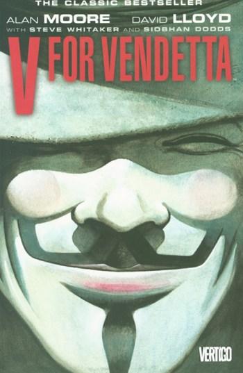 V is for Vendetta Cover