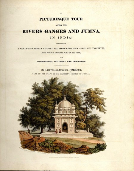 Picturesque Tour Title Page