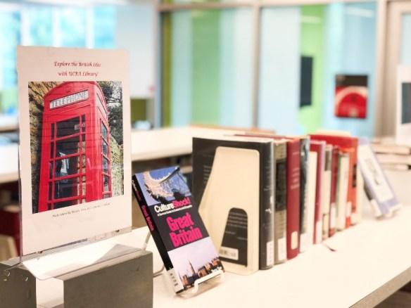 British Isles Book Display Photo 1