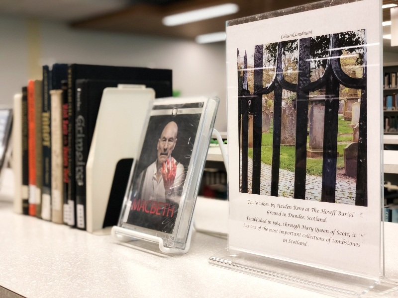 British Isles Book Display Photo 2