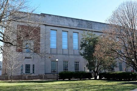 Belgen Library exterior