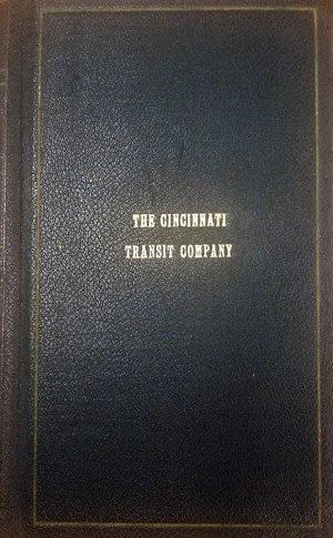 Book on the Cincinnati Transit Company
