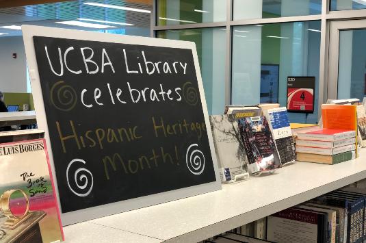 Hispanic Heritage Month Display