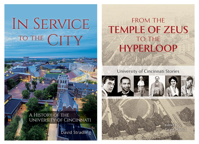 In Service to the City and From the Temple of Zeus book covers