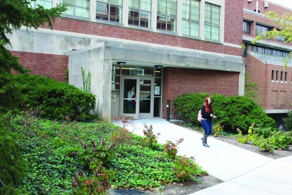 gmp library entrance