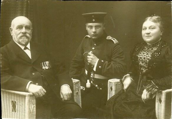 August, Hans and Adelaide Schiller