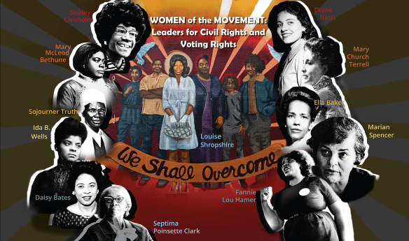 women of the movement graphic