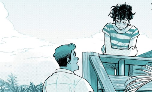 image from graphic novel bloom by kevin panetta