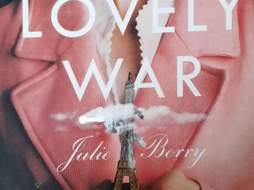 book cover lovely war by julie berry
