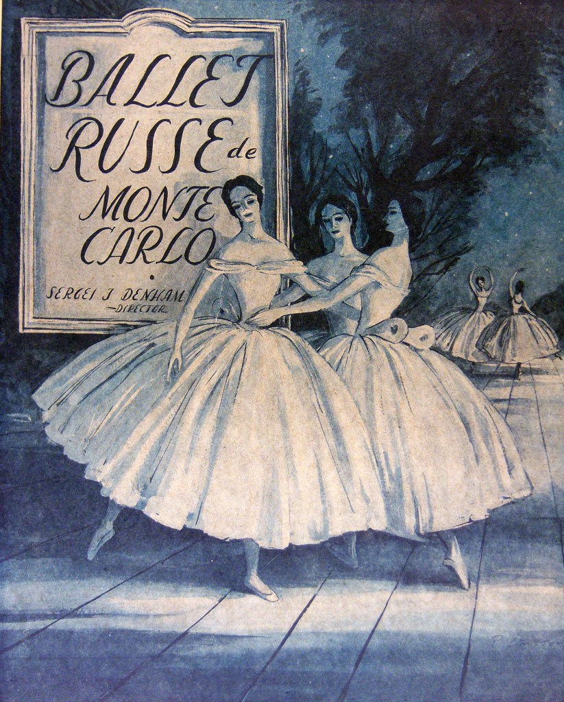 painting of ballerinas