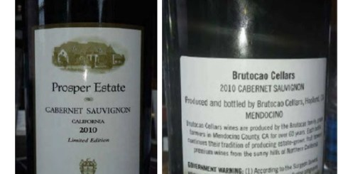 Prosper Estate Bottle Trademark Dispute failed to obtain a certificate of label approval