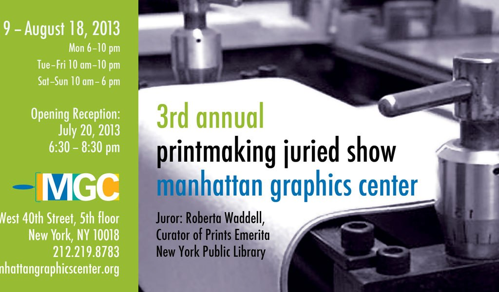 MGC 3rd Annual Printmaking Juried Show