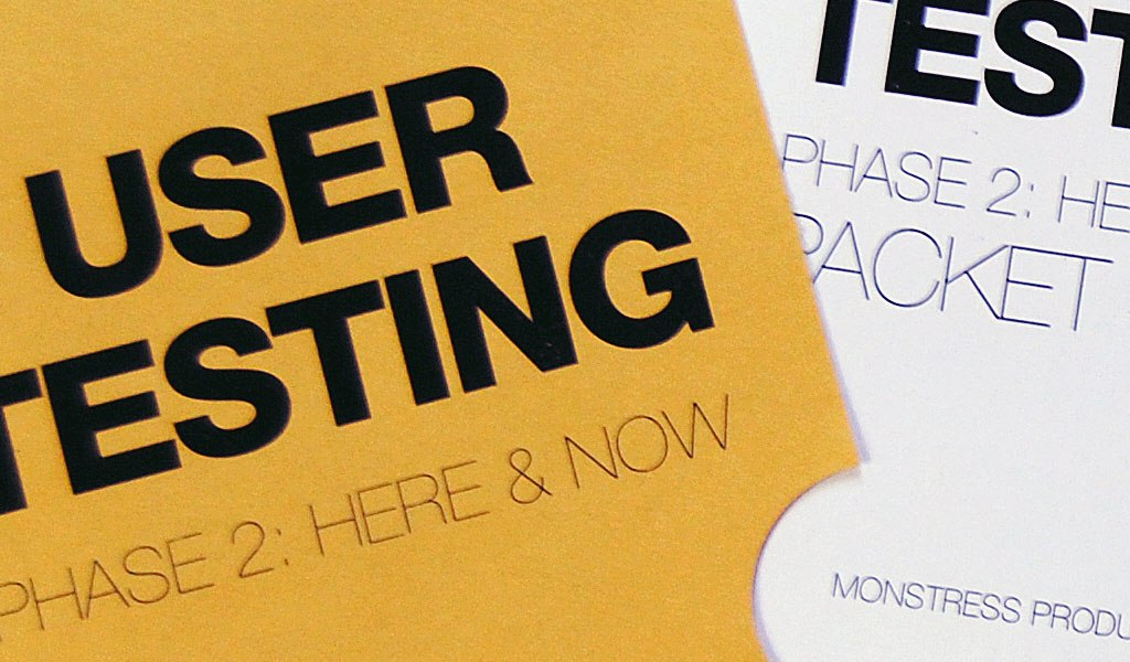 Here & Now User Testing