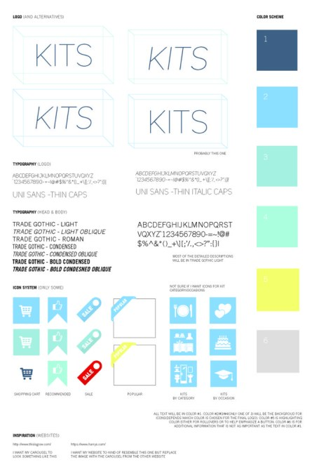 Student One: Style Guide