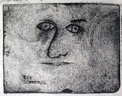 Etching produced by 4th Grader
