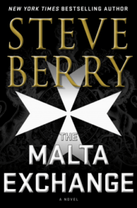 Book cover of The Malta Exchange by Steve Berry