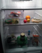 My refrigerator at the Holiday Inn Club Vacations resort