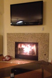 holiday inn club vacations fireplace