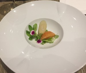 Heart of palm and grapefruit