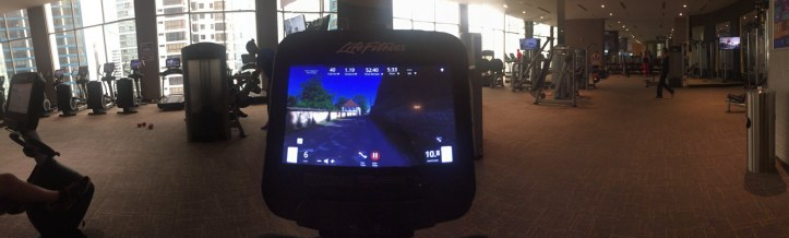 The Gym, as viewed from my stationary bike