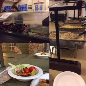 Chicken Curry Hot Meal and Salad Bar