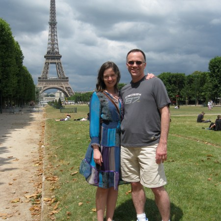 Libby and Dan in Paris
