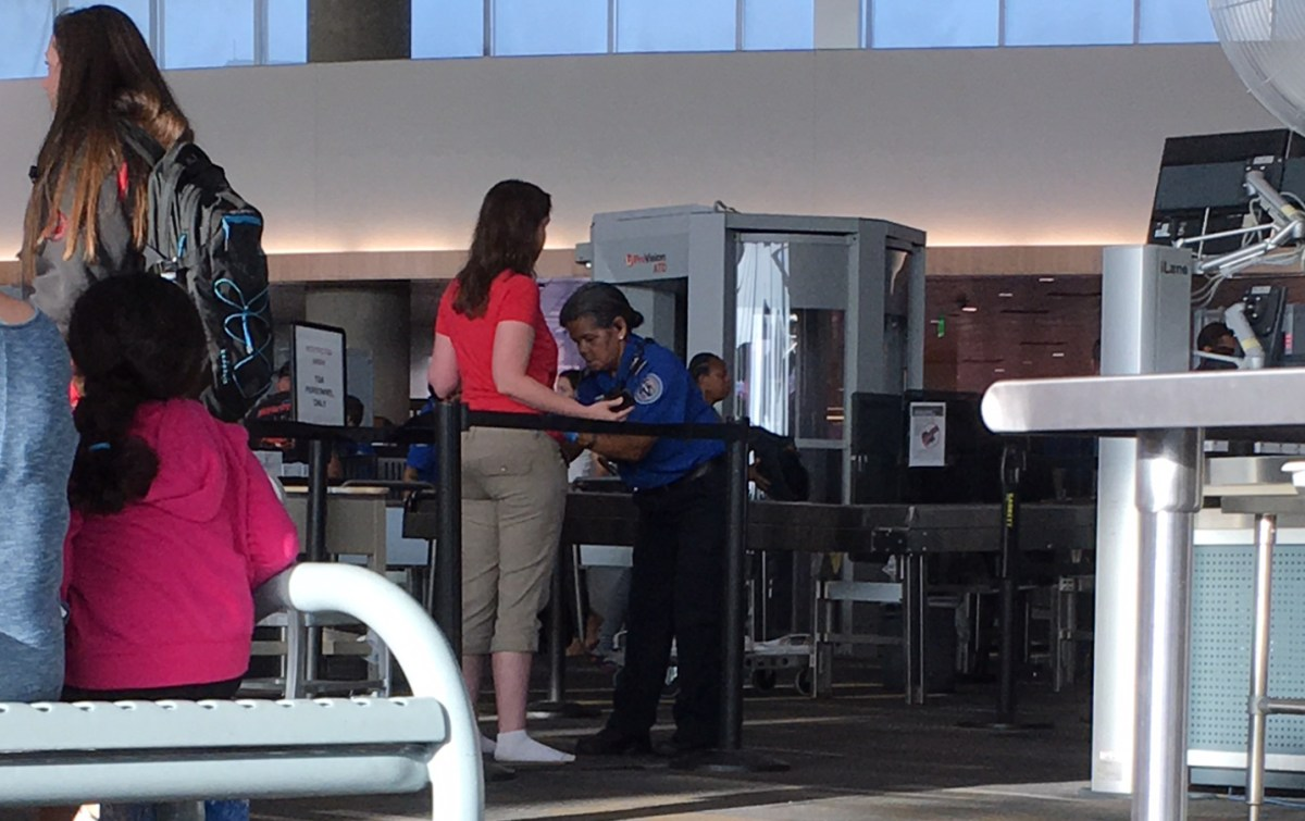 Demeaning Airport Security Pat-downs